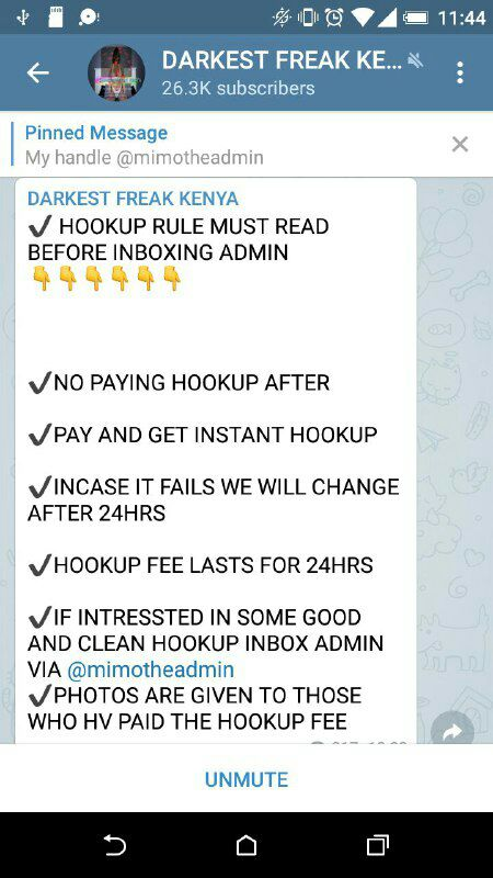 Fake Hookups Telegram Channel Scams Foolish Kenyan Men Millions