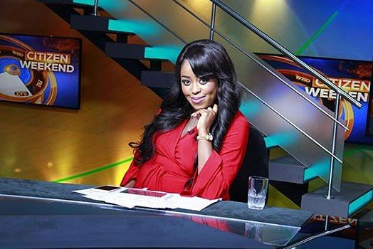 Citizen TV anchor Lilian Muli. PHOTO