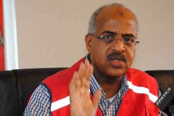 Kenya Red Cross CEO Abbas Gullet And Senior NHIF Management