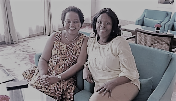 Kirinyaga Governor Anne Waiguru and her loyal lieutenant Pauline Kamau