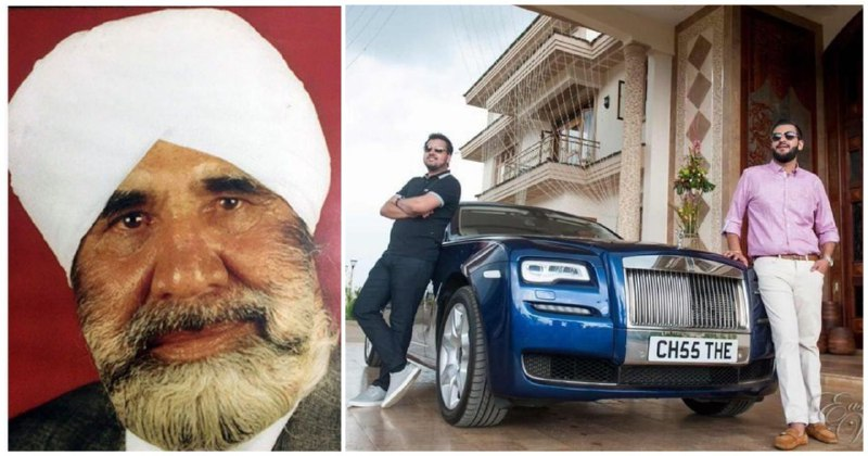 Kibos Sugar Company Boss Sukhwinder Singh Chatthe (LEFT) and his two exuberant sons (RIGHT) posing next to a posh Rolls Royce